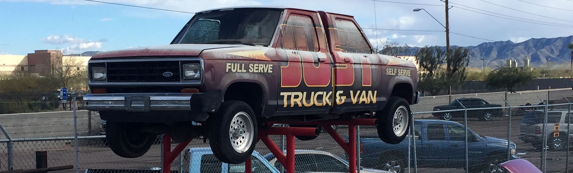 Sell truck to junkyard